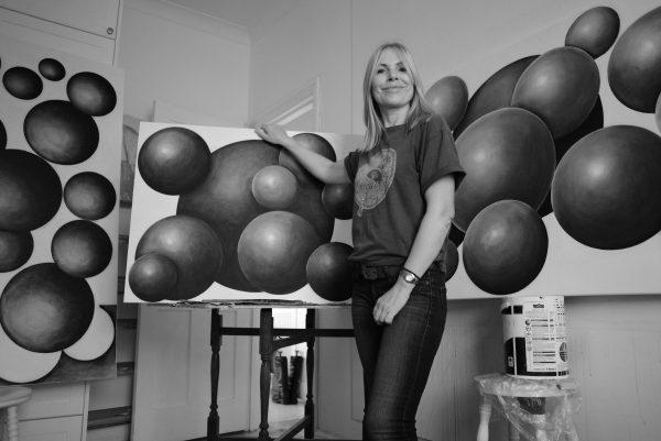 Helen Dyson - studio at Helen Dyson Art