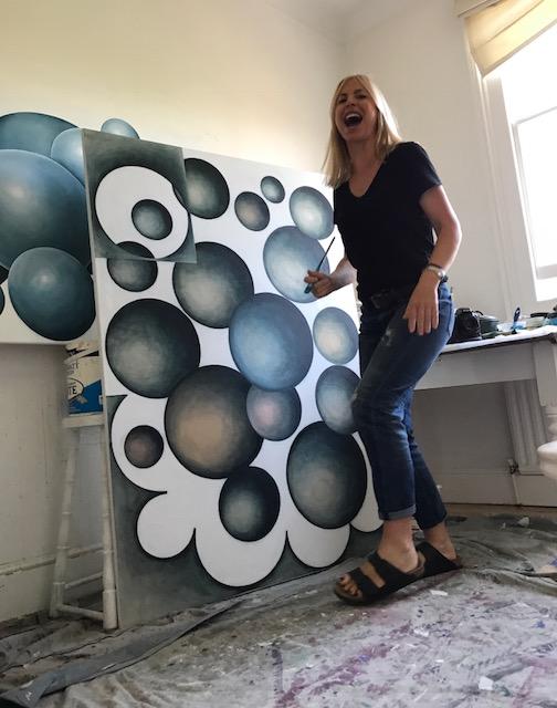 Helen Dyson - art studio fun